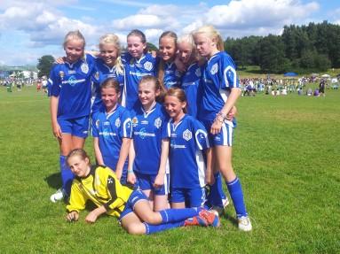 Glade jenter på Norway Cup!